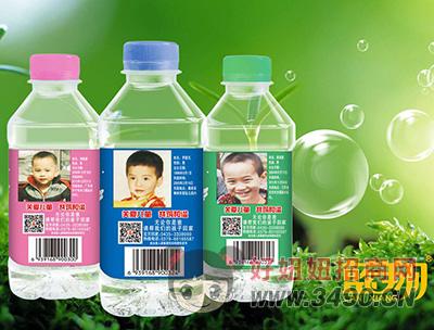 蓝翔宝贝回家苏打果味饮料350ml
