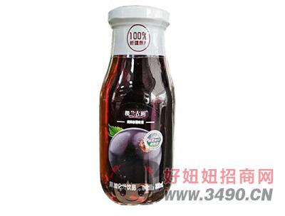 楼兰古丽黑加仑汁300ml