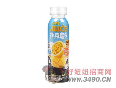 闪轻热带魔方复合果汁饮料