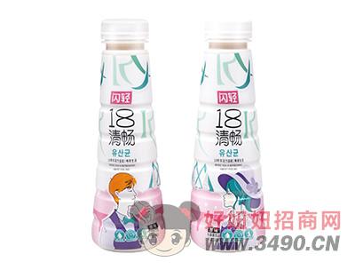 闪轻18清畅乳酸菌饮品340ml