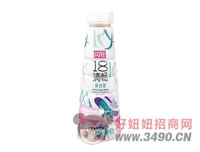 闪轻18清畅原味乳酸菌饮品340ml