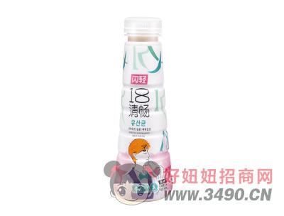 闪轻18清畅原味乳酸菌饮品340ml瓶装