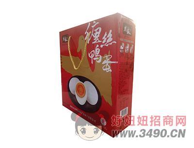 黑呱缠丝鸭蛋礼盒装