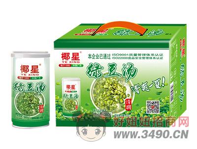 椰星绿豆汤罐头320g×12罐