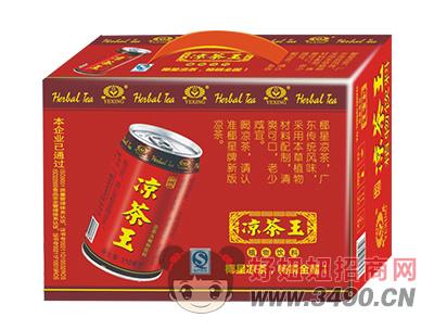 椰星凉茶王植物饮料310ml礼盒