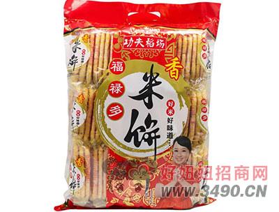 功夫稻场福禄多香米饼500g