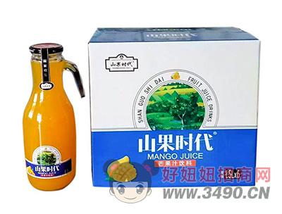 山果时代芒果汁饮料1.5L×6瓶