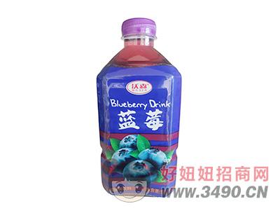 沃森蓝莓味饮料1L