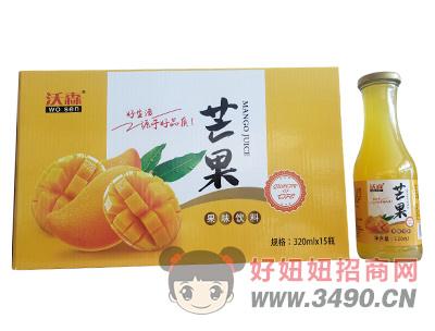沃森芒果果味饮料320ml×15瓶