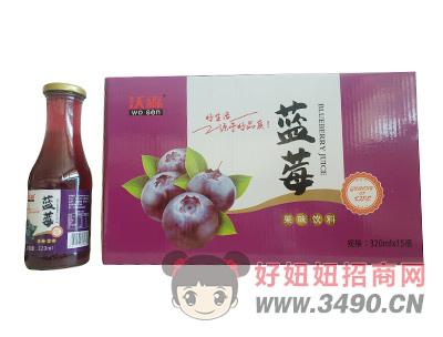 沃森蓝莓果味饮料320ml×15瓶
