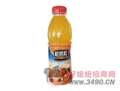 沃森橙果粒果味饮料500ml