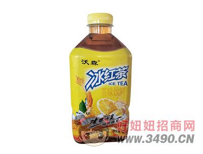 沃森冰红茶柠檬味茶饮料1L