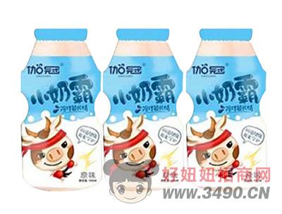 伽冠小奶霸原味乳酸菌�品100ml