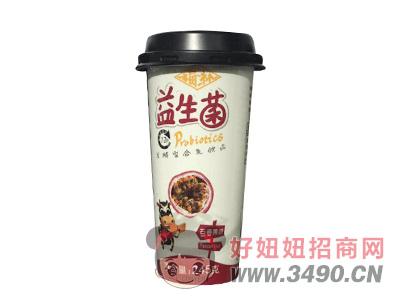 福淋益生菌百香果味发酵型复合乳饮品245g