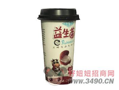 福淋益生菌荔枝味发酵型复合乳饮品245g
