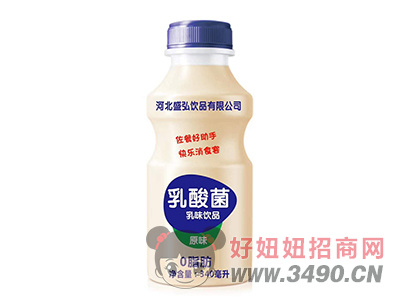 盛弘原味乳酸菌lehu国际app下载340ml