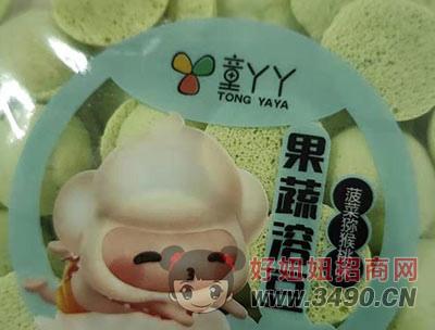 果蔬溶豆菠菜猕猴桃味