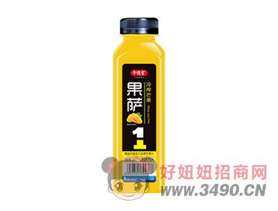 令德堂果萨冷榨芒果汁饮料500ml
