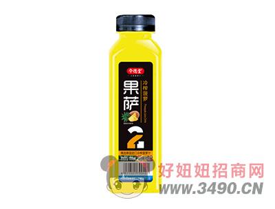 令德堂果萨冷榨菠萝汁饮料500ml