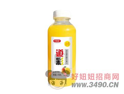 令德堂道彩益生菌发酵芒果汁饮料410ml