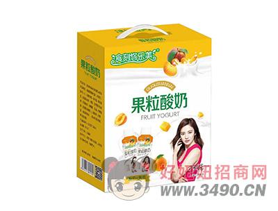 食刻悠乐美黄桃果粒酸奶礼盒