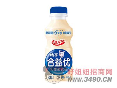 畅享合益优乳酸菌乳饮料原味340ml