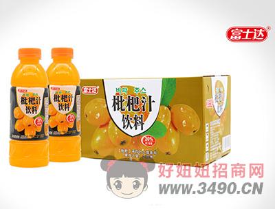 富士达枇杷汁饮料600ml×15瓶