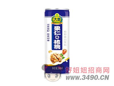 大地果仁+核桃植物蛋白饮料240ml
