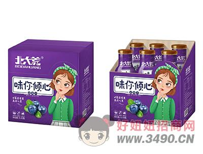 北大荒味你倾心蓝莓汁饮料1L×6瓶