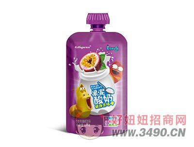 开洛德百香果味酸奶lehu国际app下载150g