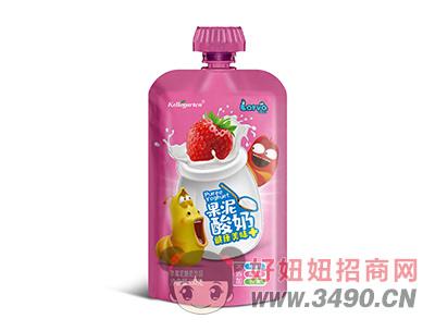开洛德草莓味酸奶lehu国际app下载150g