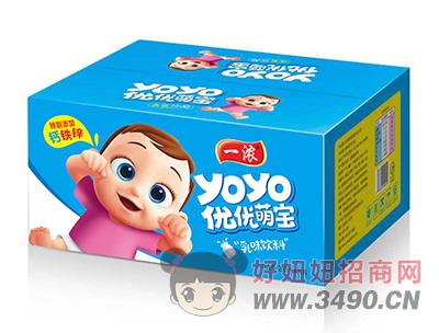一浓优优萌宝乳lehu国际app下载200ml×20瓶(蓝箱装)