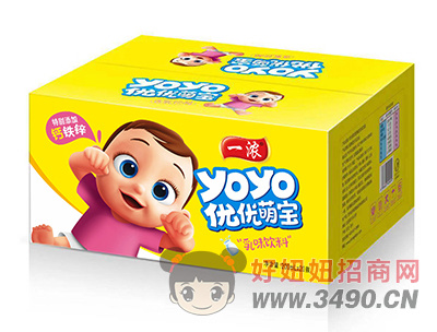 一浓优优萌宝乳lehu国际app下载200ml×20瓶(黄箱装)
