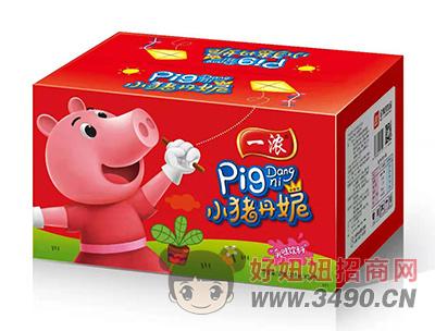 一浓小猪丹妮乳味饮料200ml×24瓶(红箱装)