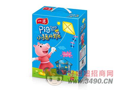 一浓小猪丹妮乳味饮料200ml(蓝礼盒)