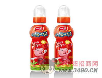 一浓小猪丹妮乳味饮料200ml(红瓶)