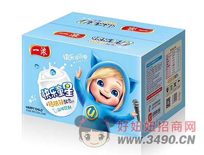 一浓快乐童星乳味饮料200ml×20瓶(蓝箱)