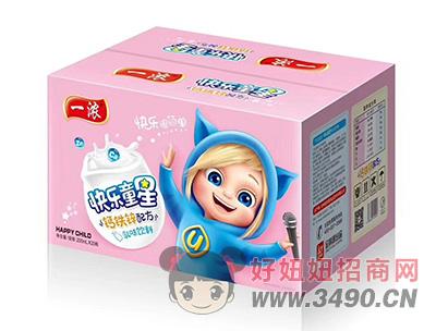 一浓快乐童星乳味饮料200ml×20瓶(粉箱)