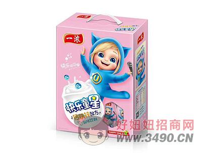 一浓快乐童星乳味饮料200ml(粉礼盒)
