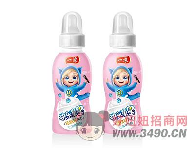 一浓快乐童星乳味饮料200ml(粉瓶)
