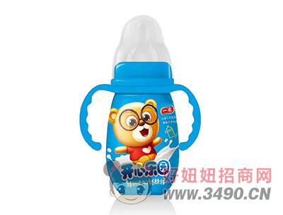 一浓开心乐园乳味饮料200ml(蓝瓶装)