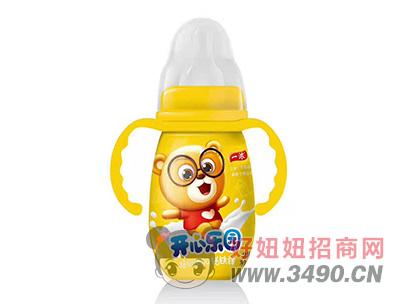 一浓开心乐园乳味饮料200ml(黄瓶装)
