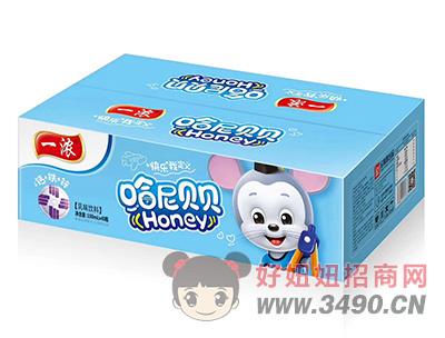 一浓哈尼贝贝乳味饮料100ml×40瓶(蓝箱)