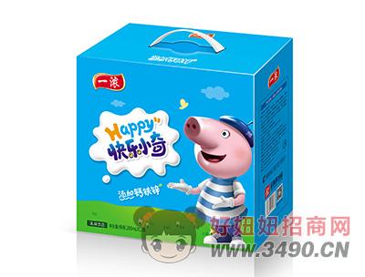 一浓快乐小奇乳味饮料200ml×12瓶蓝礼盒