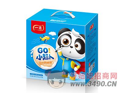 一浓小超人乳味饮料200ml×12瓶(蓝礼盒)