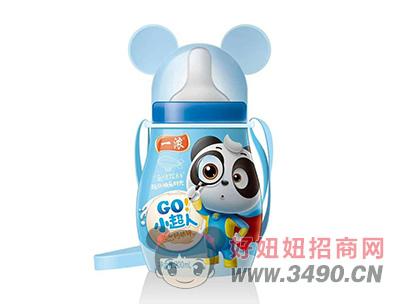 一浓小超人乳味饮料200ml(蓝瓶装)