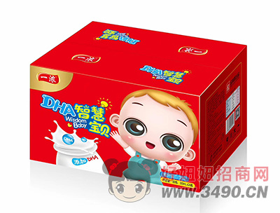 一浓智慧宝贝复合蛋白饮料200ml×24瓶(红箱装)