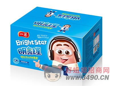 一浓明亮之星乳酸菌lehu国际app下载200ml×24瓶(蓝箱装)