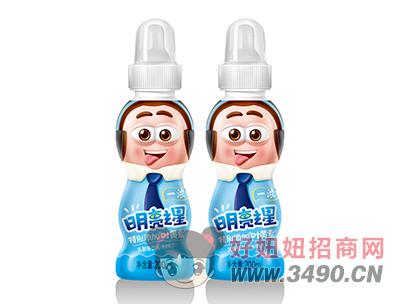 一浓明亮之星乳酸菌lehu国际app下载200ml(蓝瓶装)