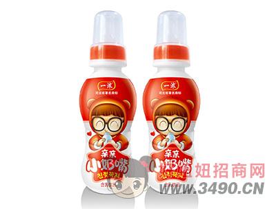 一浓亲亲小奶嘴乳lehu国际app下载200ml(红瓶)